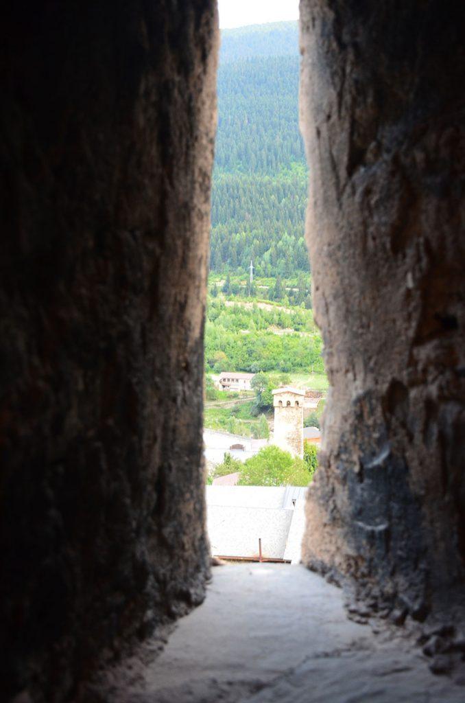 Вид изнутри башни