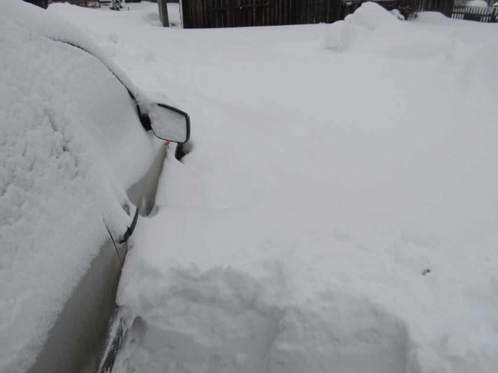 Откапываем машину