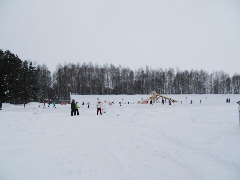 Стадион в Чайковском
