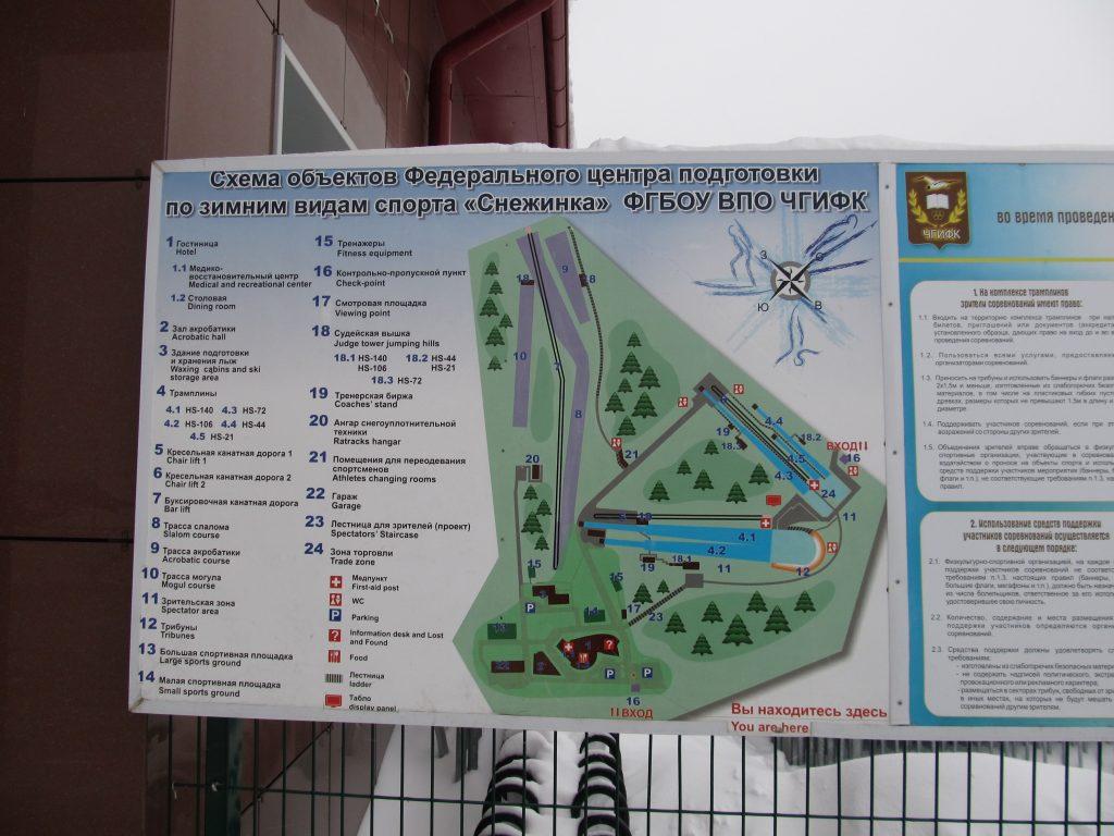 схема базы Снежинка