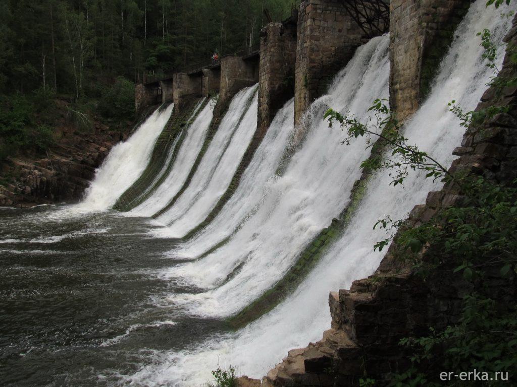 "Плотина ГЭС ""Пороги"""