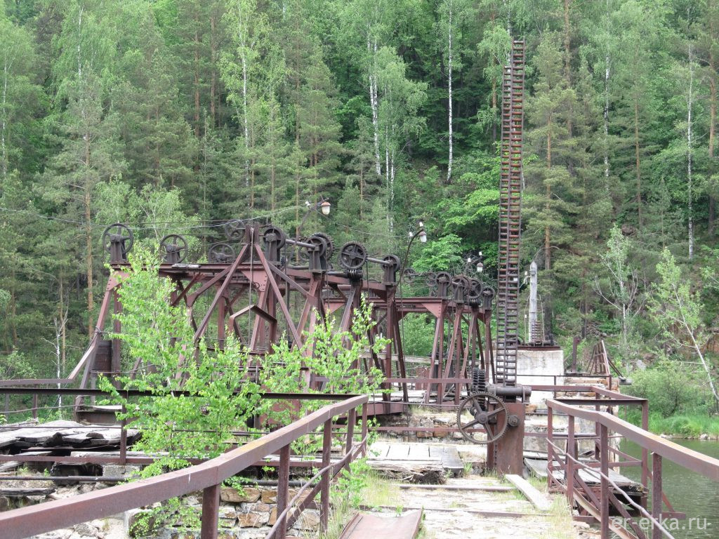 Механизмы плотины Порожской ГЭС
