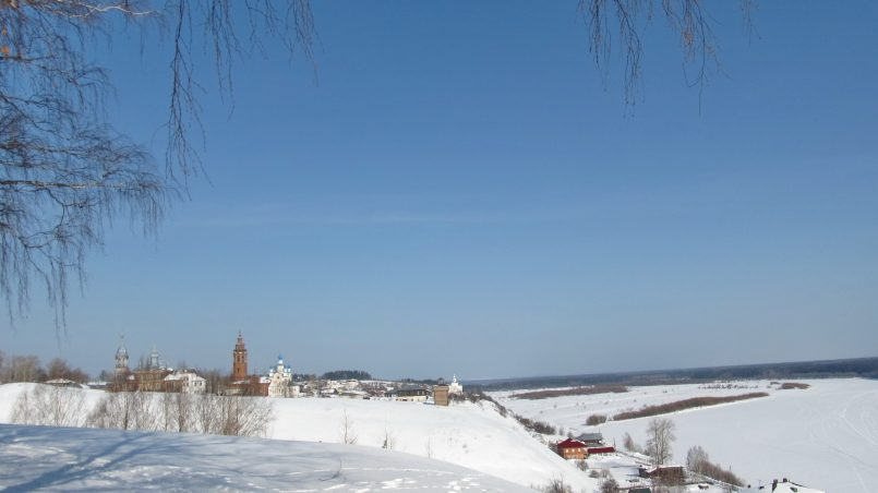 Вятское городище в Чердыни