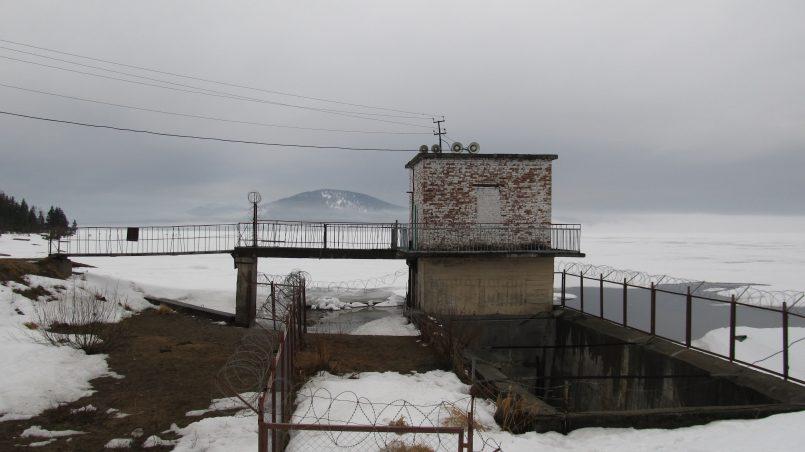 плотина ГЭС Зюраткуль