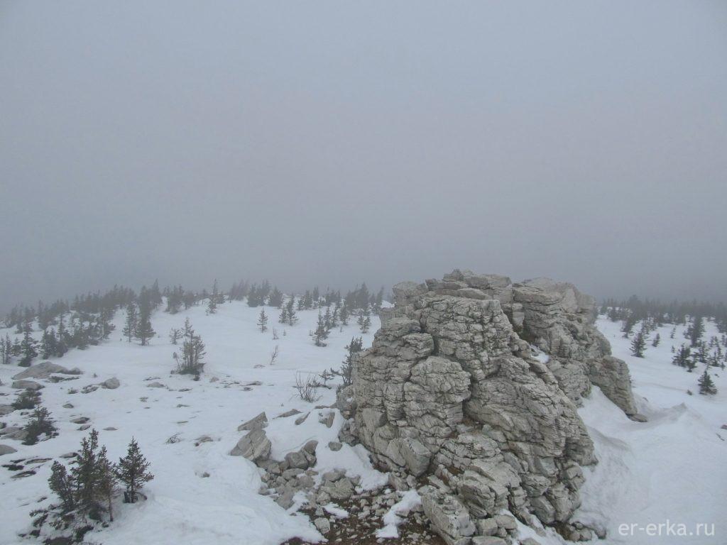 Вершина Хребета Зюраткуль