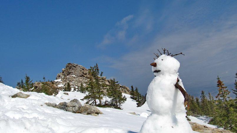 Снеговик на Зюраткуле