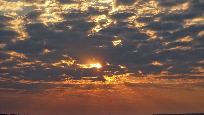 закат Калинино