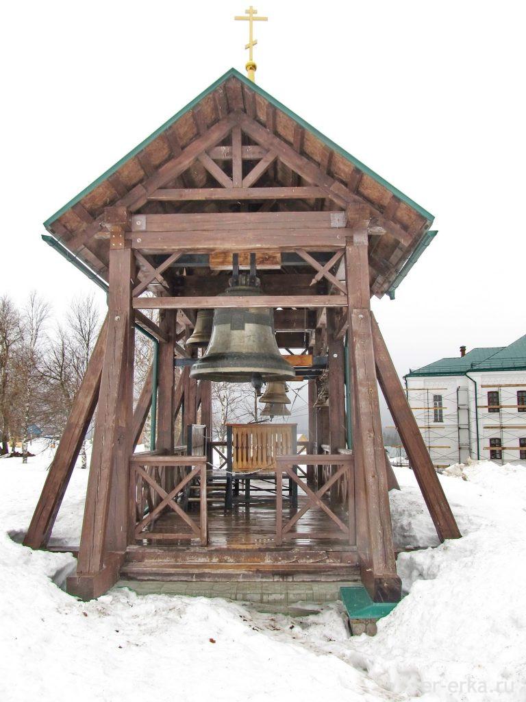 Звонница белогорского монастыря