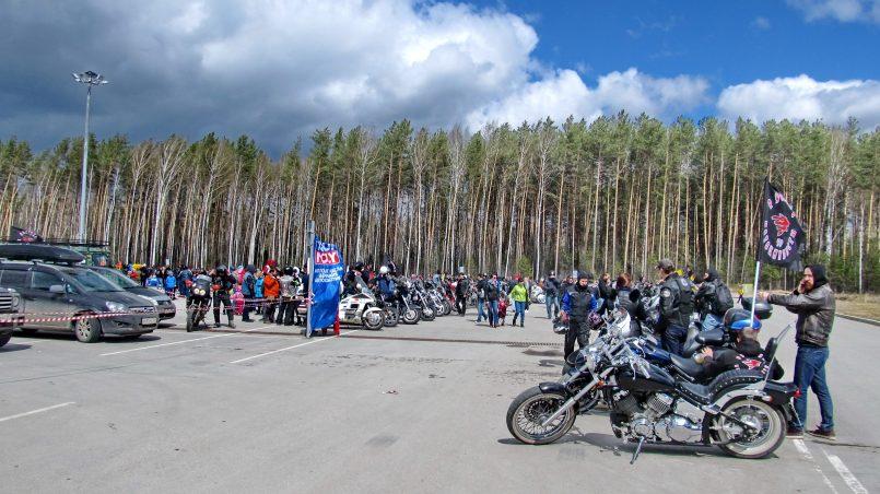 Открытие мотосезона 2017 в Перми