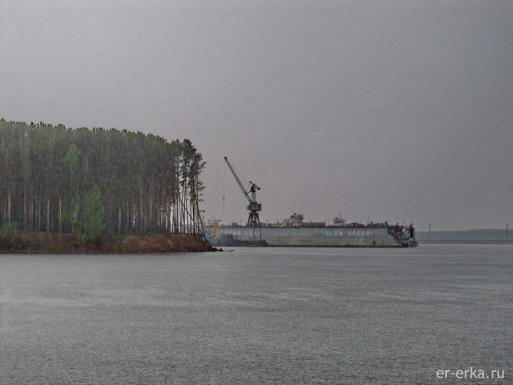 Чайковский речной порт