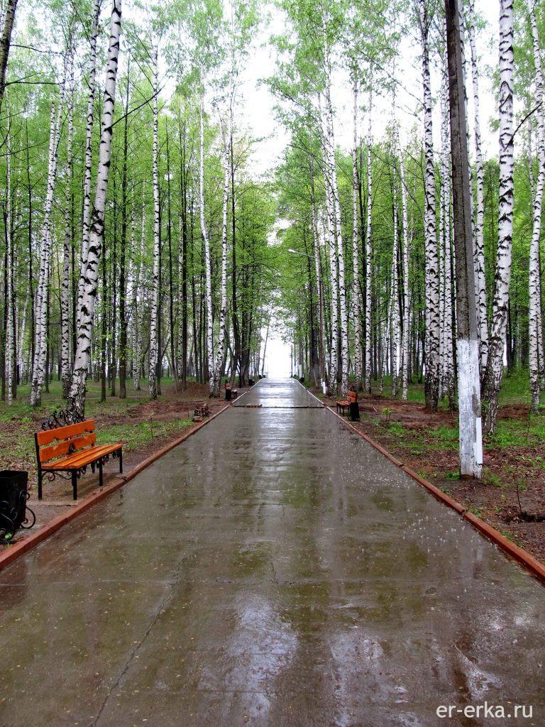 Чайковский парк культуры и отдыха