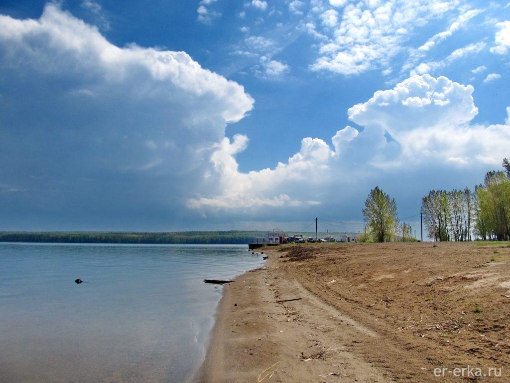 Пляж, Чайковский