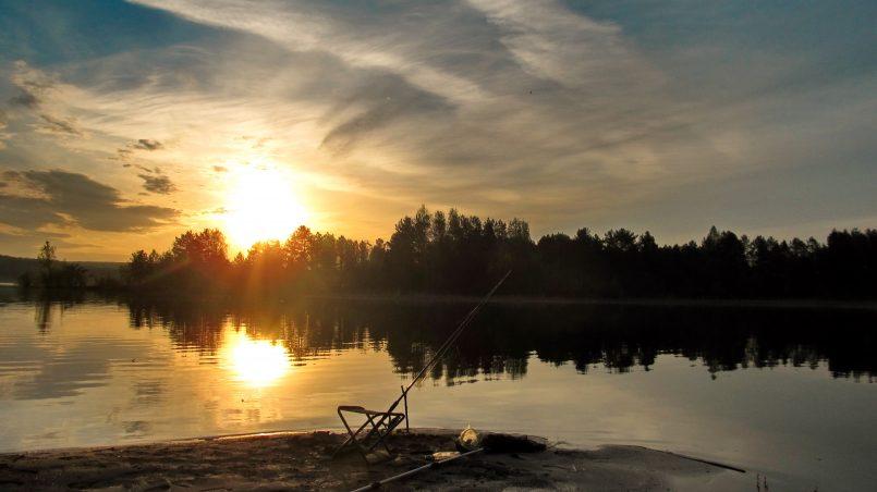 Рыбалка на реке Сигиляш