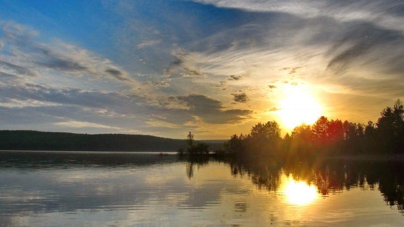 Восход солнца Чайковский