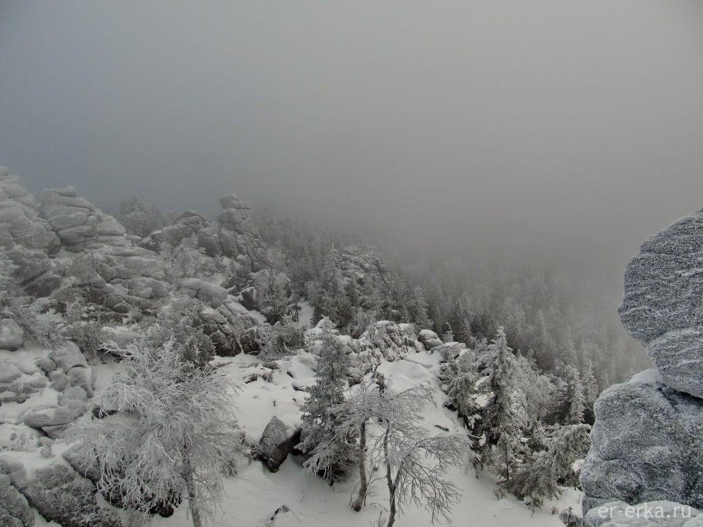 Гора Качканар вершина Верблюд