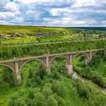 Виадуки на транссибирской железной дороге. Пермский край.