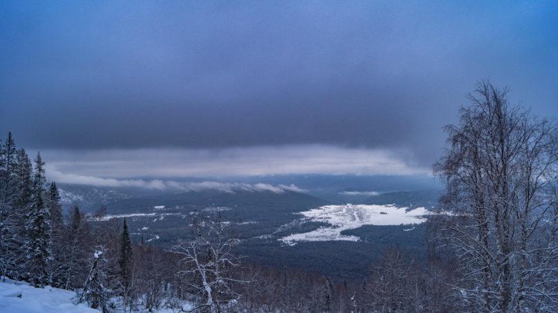 Зигальга, гора Поперечная